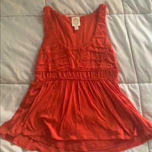 Rust Orange Hi-Lo Tank from Aeropostale